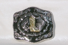 Cowboy boots buckle